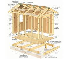 Free shed building plans Plan