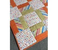 Free toddler bed quilt pattern Plan