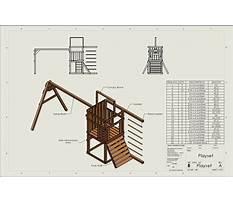 Free wood swing set plans Plan