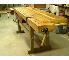 Free woodworking plans for benches Plan