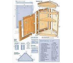 Free woodworking plans for corner cabinet Plan