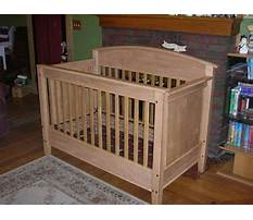 Free woodworking plans for crib Plan