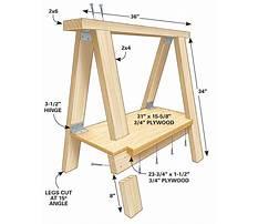 Free woodworking plans sawhorse Plan