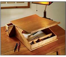 Free woodworking plans writing desk Plan