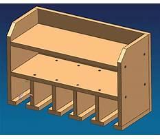 Free woodworking tool rack plans Plan