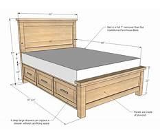 Full bed platform with storage.aspx Plan
