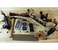 Furniture building tools Plan