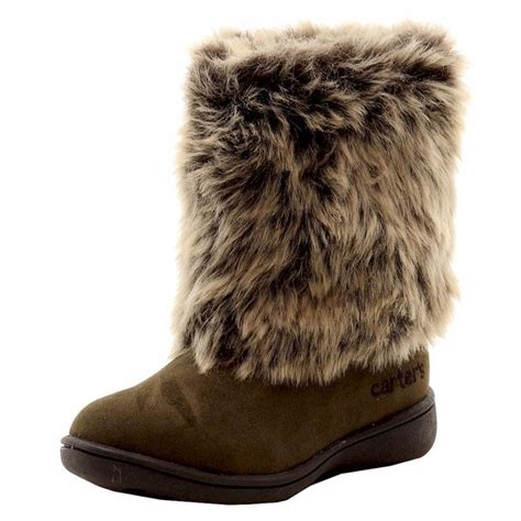 Furry Winter Boots For Girls