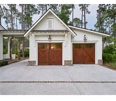 Garage additions with breezeway Plan
