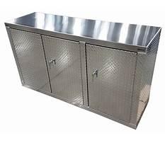 Garage cabinets diamond plate Plan