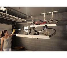 Garage ceiling bike storage ideas Plan