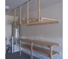 Garage ceiling shelving ideas Plan