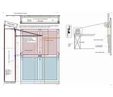 Garage door plans aspx file Plan