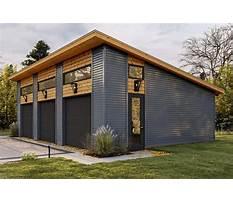 Garage plans modern Plan