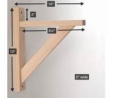 Garage shelves brackets Plan