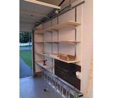 Garage storage shelves wall mount Plan