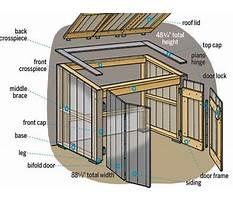 Garbage can storage shed plans Plan