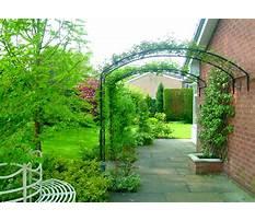 Garden arches metal extra wide Plan