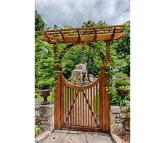 Garden arches with gates uk Plan