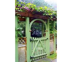 Garden gate arbors designs Plan