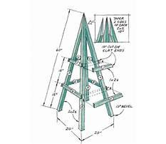 Garden obelisks and plant climbers Plan