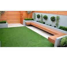 Garden seating ideas Plan