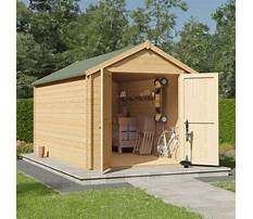 Garden sheds free delivery Plan