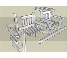 Garden table with bench seats.aspx Plan