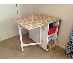 Gateleg table plans Plan