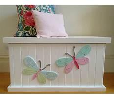 Girls toy chests & storage Plan