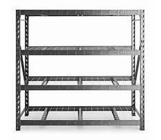 Gladiator storage shelves Plan