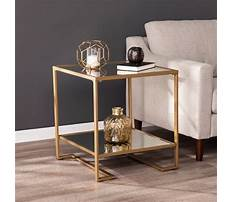 Glass top end tables target Plan
