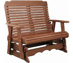 Glider benches for sale Plan