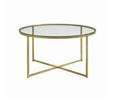 Gold x coffee table base Plan