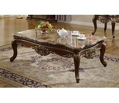 Granite coffee table and end tables Plan