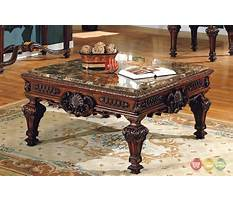 Granite top coffee and end tables Plan