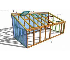 Greenhouse building plans free Plan