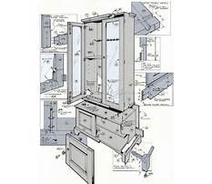 Gun cabinet woodworking plans.aspx Plan