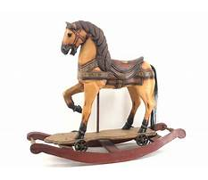 Hand carved large wooden horses Plan