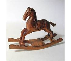 Hand carved miniature rocking horse Plan