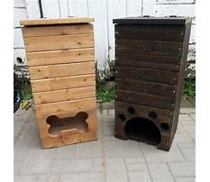Handmade wooden dog toy boxes Plan