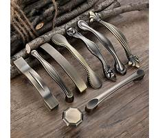Hardware pulls and knobs cabinet Plan