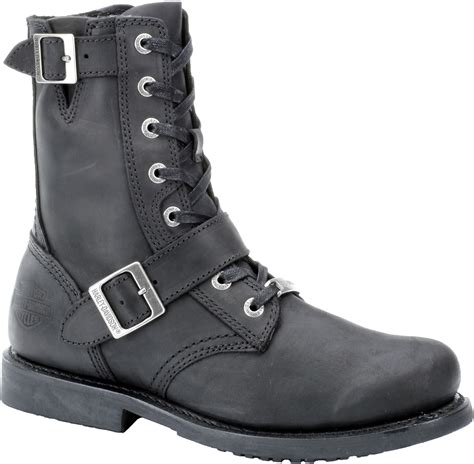 Harley Davidson Men Black Boots