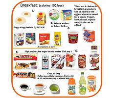 Hcg diet what to eat for breakfast Plan