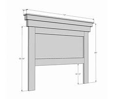 Headboard ideas for queen beds Plan