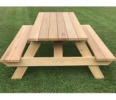 Heavy duty wooden picnic table plans Plan
