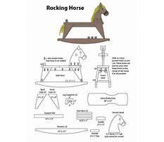 Hedstrom rocking horse parts Plan
