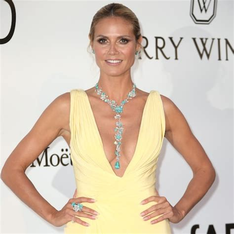 Heidi Klum Cannes Tie Necklace