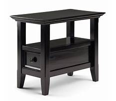 Hickory chair side tables Plan