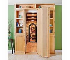 Hidden door bookshelf plans free Plan